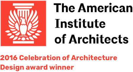 The American Institute of Architects 2016 Celebration of Architecture Design award winner